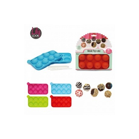 MOULE 8 POP CAKES SILICONE
