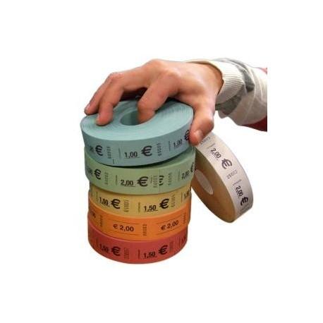 ROULEAU DE 1000 TICKETS (0.50€/1.00€/1.50€/2.00€)