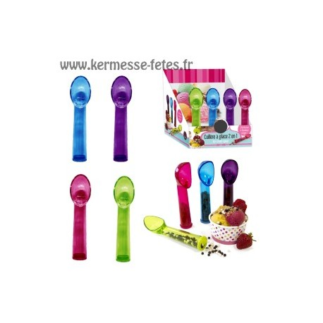 CUILLERE GLACE MANCHE GOURMANDISE