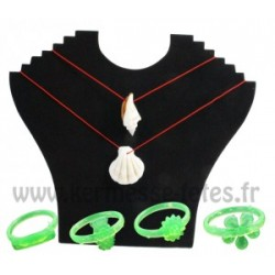 COLLIER COQUILLAGE + BAGUE
