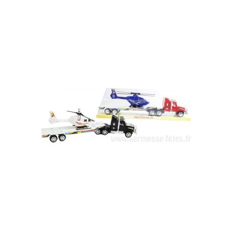 CAMION 39 cm TRANSPORT HELICOPTERE