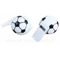 SIFFLET BALLON FOOTBALL GM Ø 6 cm