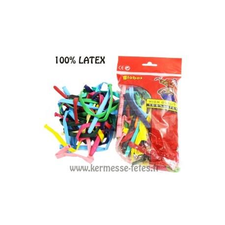 BALLONS A MODELER X 50pces 100% LATEX