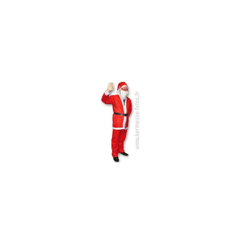 Snap Déguisement Père Noël Adulte en Feutrine Tralala fetes.fr ... dcbee2d6a18d