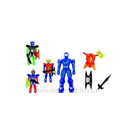 ROBOT ARTICULE 11 CM + ACCESSOIRES