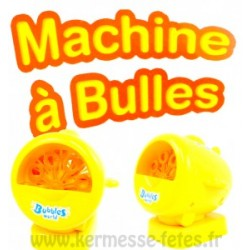 MACHINE A BULLE DE SAVON