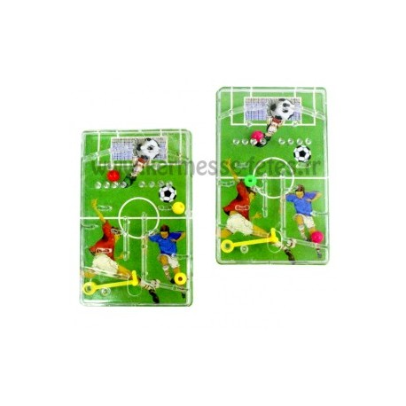 JEU FLIPPER DECOR FOOTBALL 7.5 x 5 cm