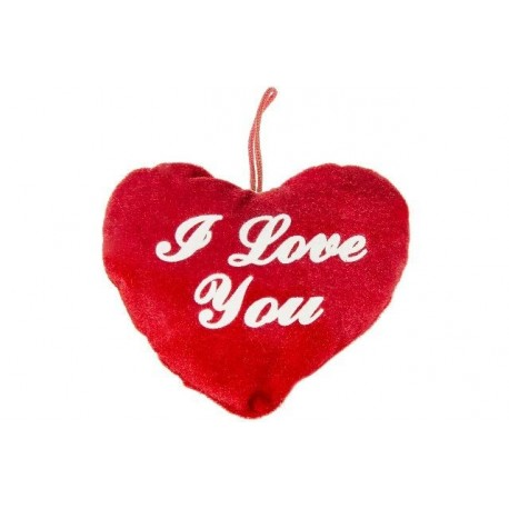 "PELUCHE COEUR "" I LOVE YOU """