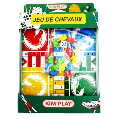 """JEU DE VOYAGE """" PETITS CHEVAUX """""""