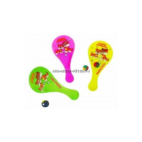 TAPE BALLE 18 cm PLASTIQUE + BALLE