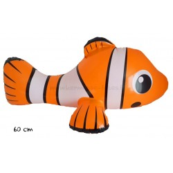 GONFLABLE POISSON CLOWN