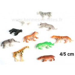 ANIMAL ZOO 4/5cm