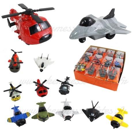SUPERBE AVION  ou HELICOPTERE en métal & plastique