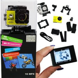 CAMERA EMBARQUEE 4K ultra HD WIFI 16mpx