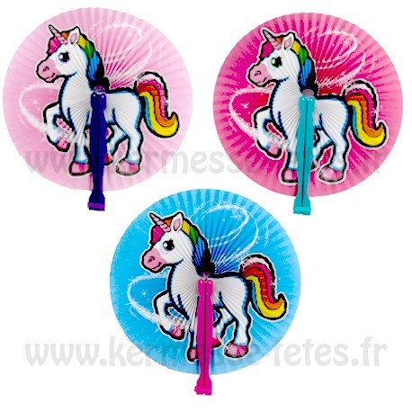 EVENTAIL LICORNE