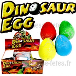 OEUF DINOAURE GROSSISSANT 6.5cm