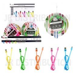CABLE CHARGEUR SYNCHRO USB 2.0 longueur 1m