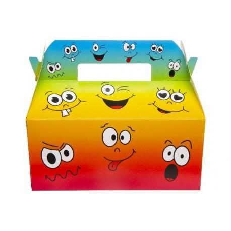 "BOITE CARTON LUNCH BOX GM "" EMOTIONS """