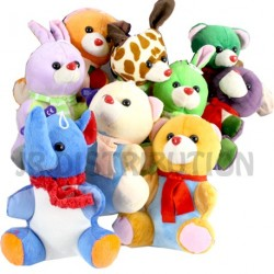 PELUCHE ANIMAL ASSIS 18 cm
