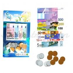 JEU DE MONNAIE EURO 12 PIECES & 24 BILLETS