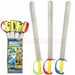 EPEE PIRATE EN MOUSSE 74cm
