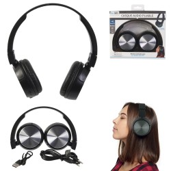 CASQUE AUDIO SANS FIL BLUETOOTH PLIABLE