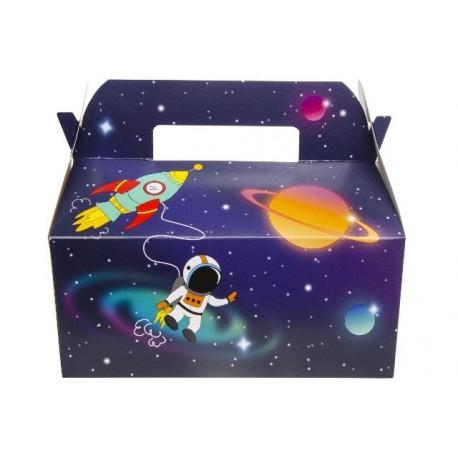 "BOITE CARTON LUNCH BOX GM "" SPACE """