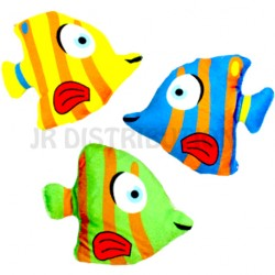 PELUCHE POISSON TROPICAL 15 cm