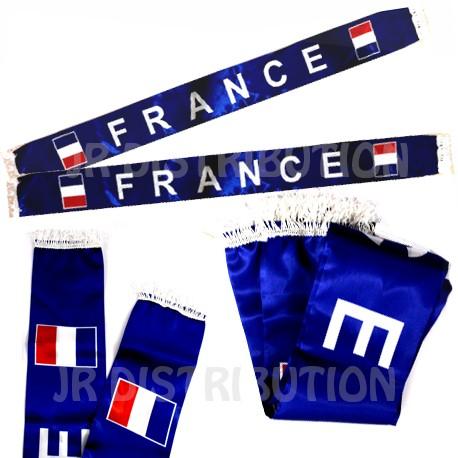 "ECHARPE SATIN SUPPORTER "" FRANCE """