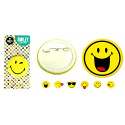 BADGE / BROCHE  SMILEY®   Ø 4.5 cm