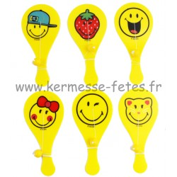 RAQUETTE TAPE BALLE  SMILEY® 18 cm