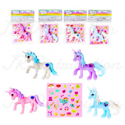 FIGURINE LICORNE PM + STICKERS
