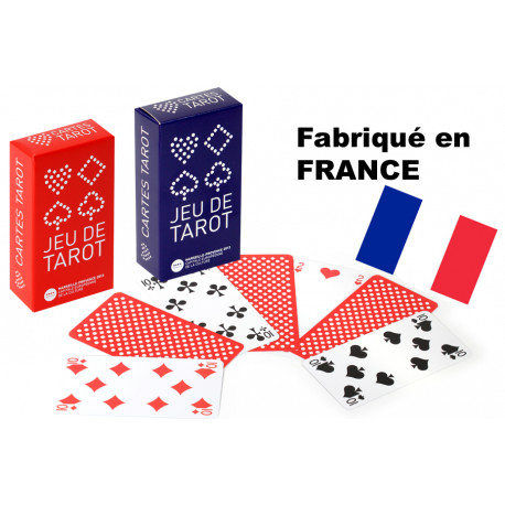 "JEU DE TAROT "" MADE IN FRANCE """
