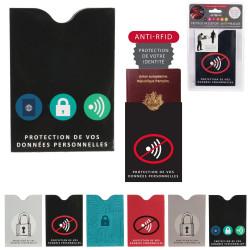 PROTEGE PASSEPORT RFID ANTI PIRATAGE