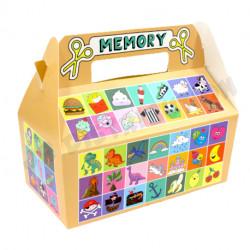 "BOITE CARTON LUNCH BOX GM "" MEMORY """