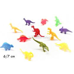 ANIMAL DINOSAURE 6/7 cm NEON